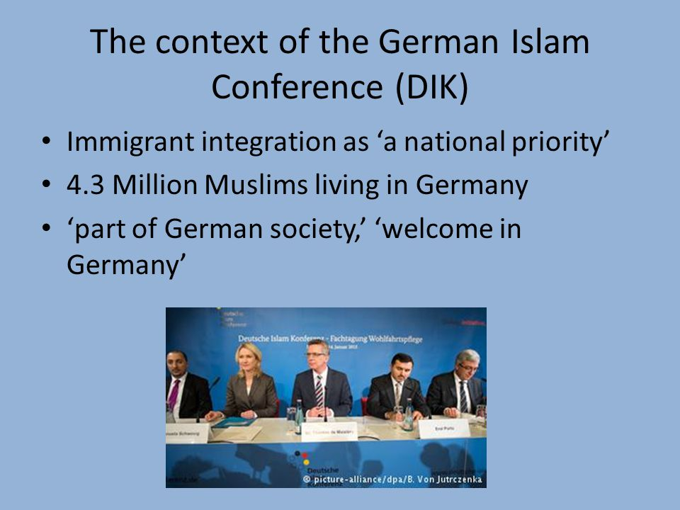 Conclusion Is the DIK a form of multicultural governance.
