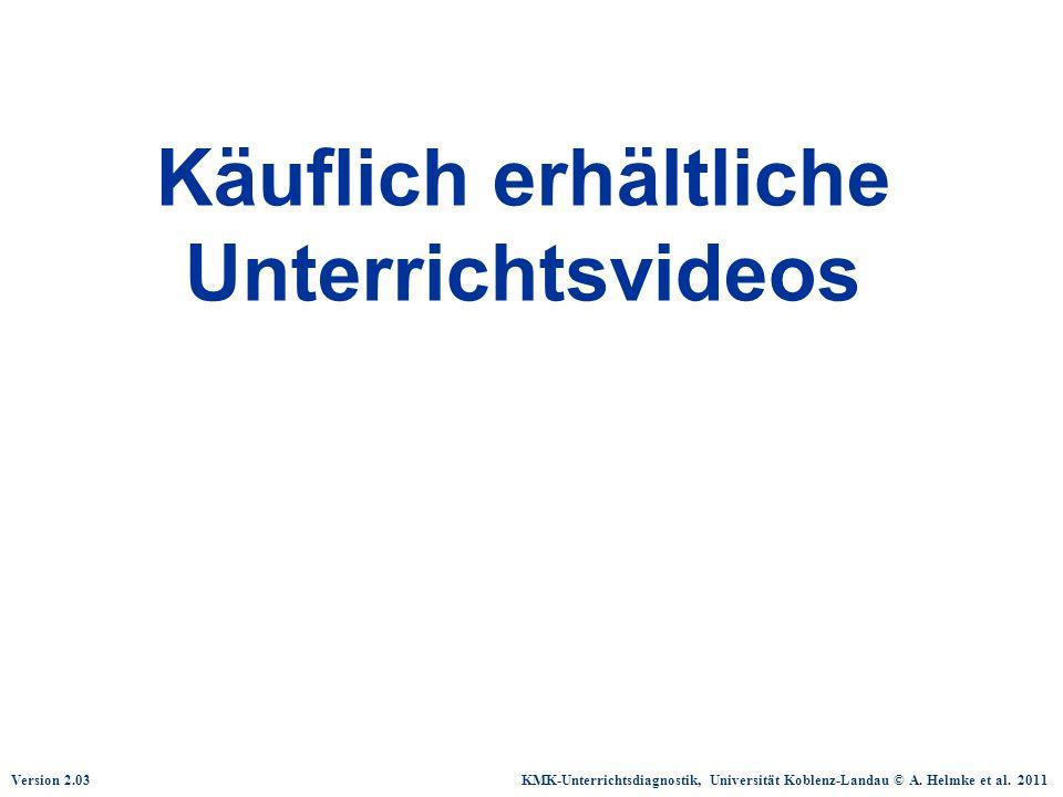 Käuflich erhältliche Unterrichtsvideos