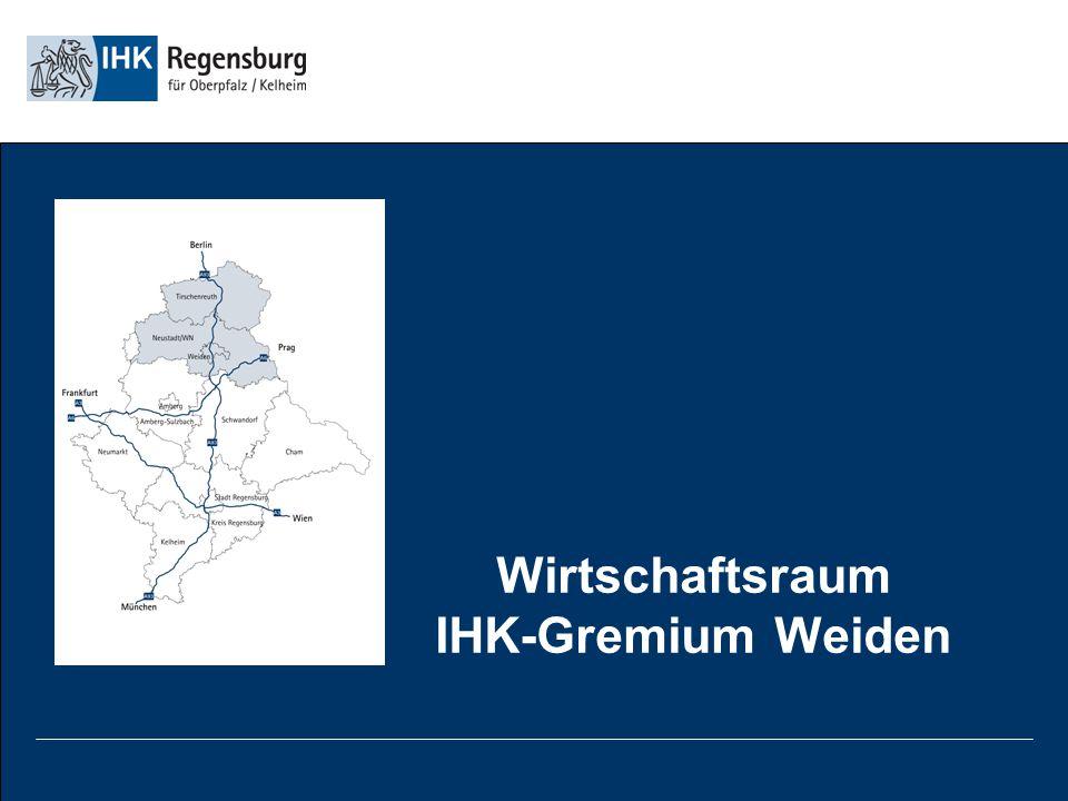 Wirtschaftsraum IHK-Gremium Weiden