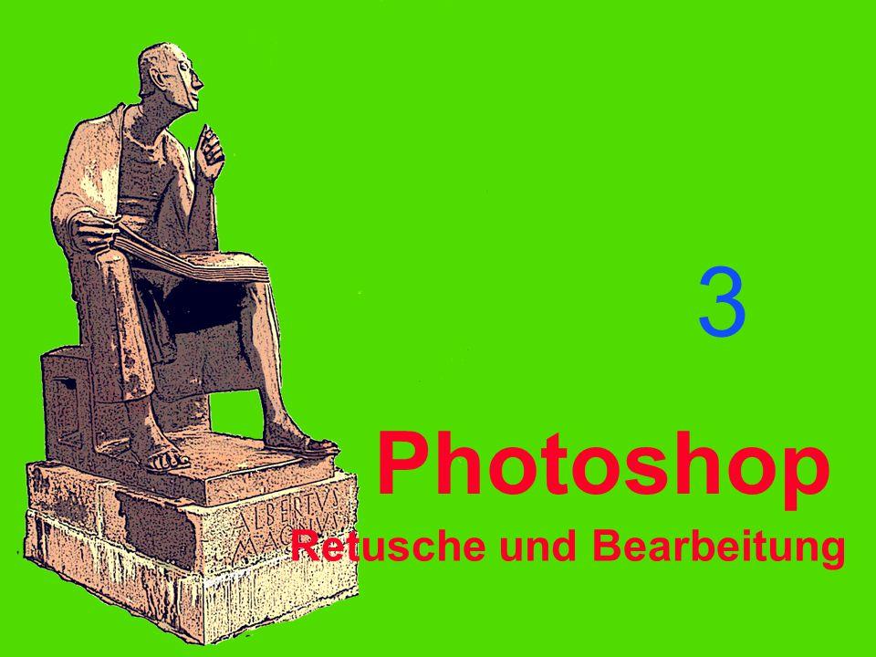 Photoshop 3 Retusche und Bearbeitung