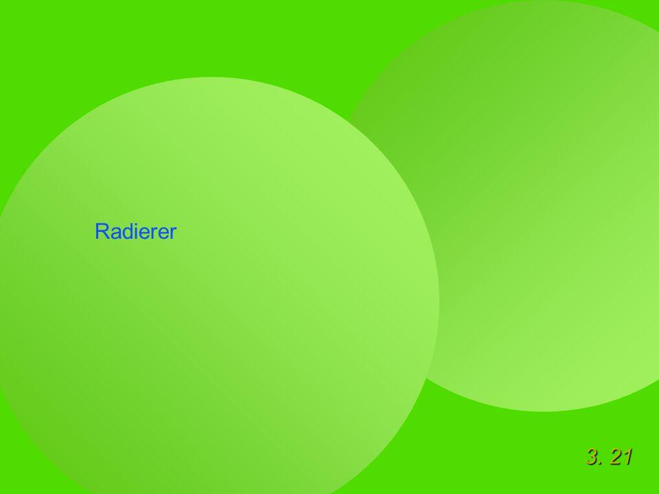 3. 21 Radierer