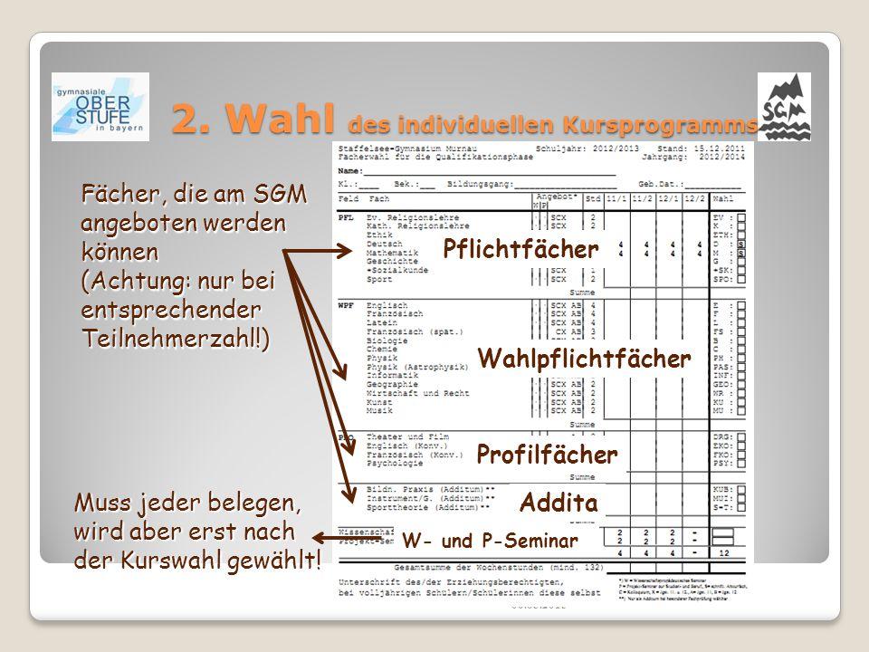 6. Informationsseite im Internet www.gymnasiale-oberstufe.bayern.de