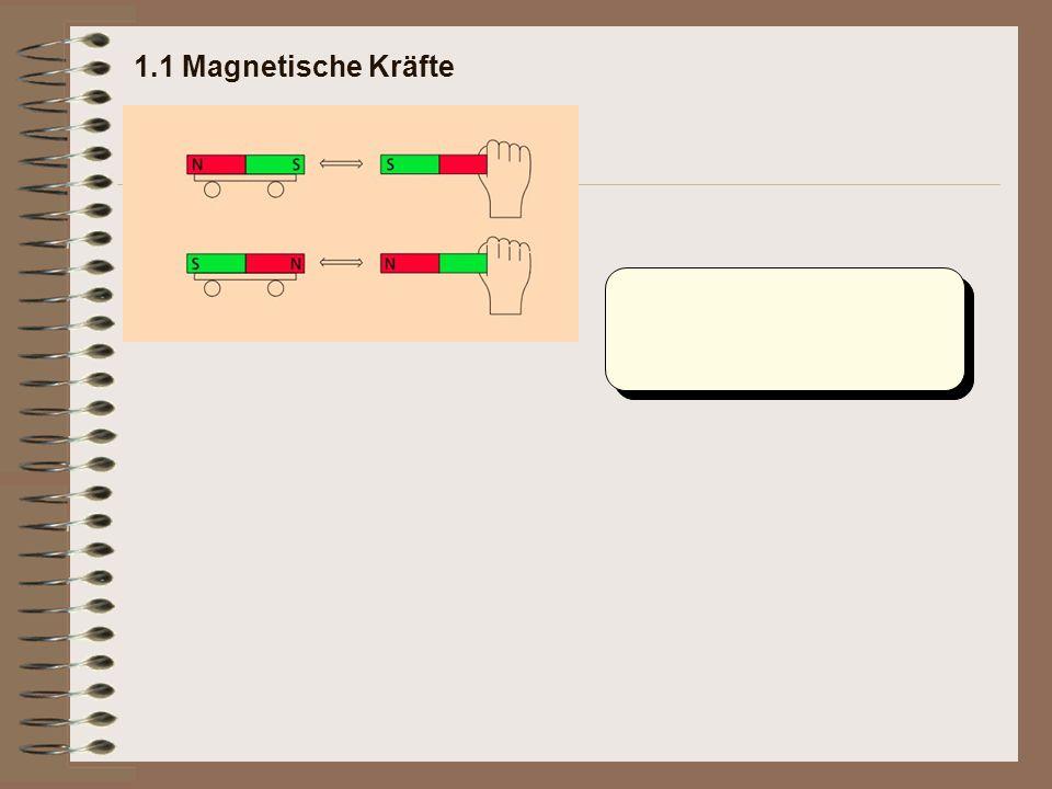 1.1 Magnetische Kräfte