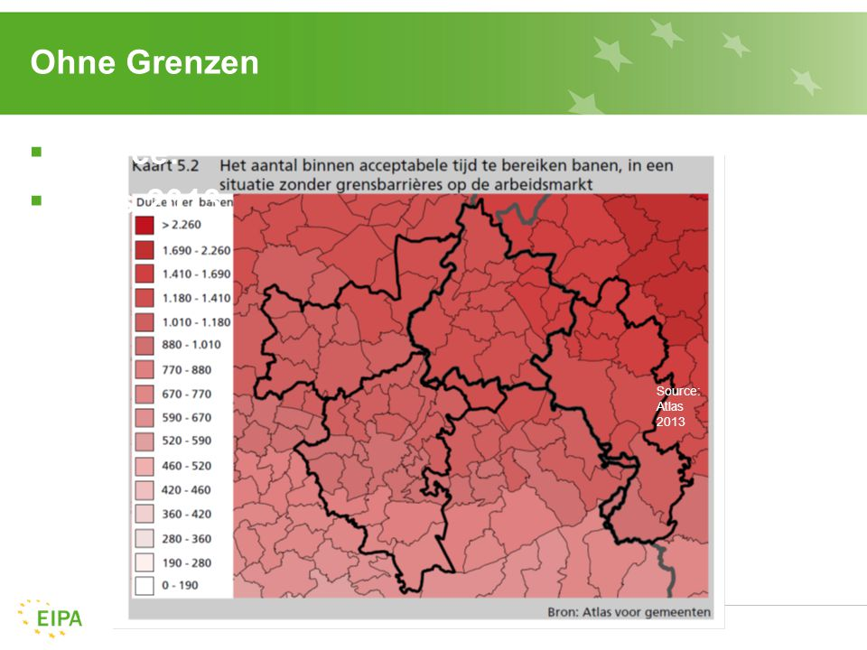 Ohne Grenzen  Source:  Atlas 2013 Source: Atlas 2013