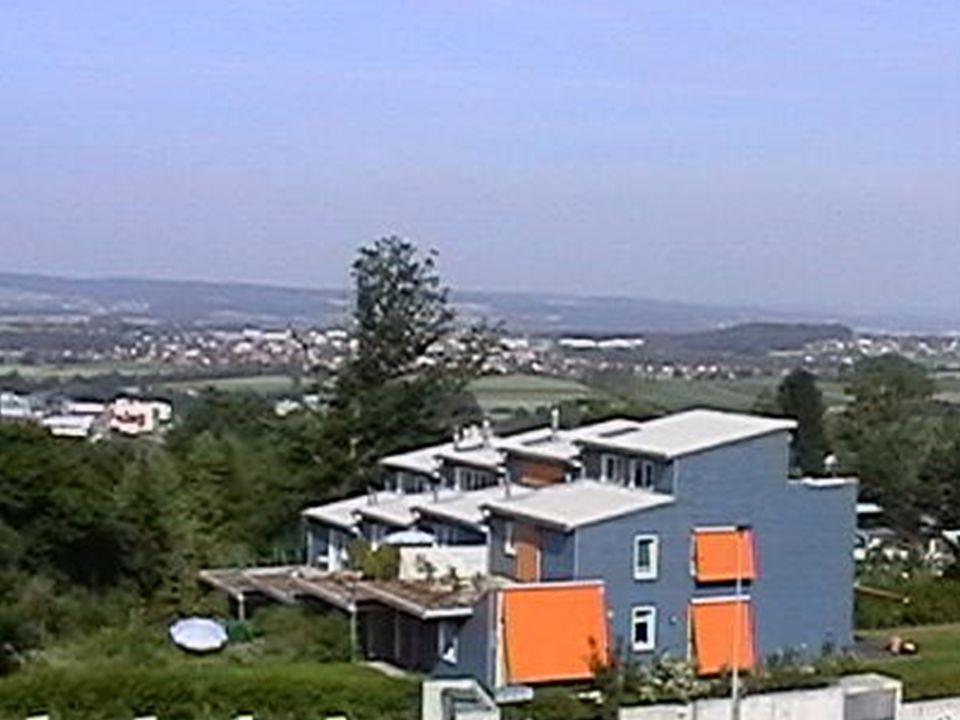 Natur- und Nutzgarten mit Brunnen (Sicht aus Wohnzimmer)
