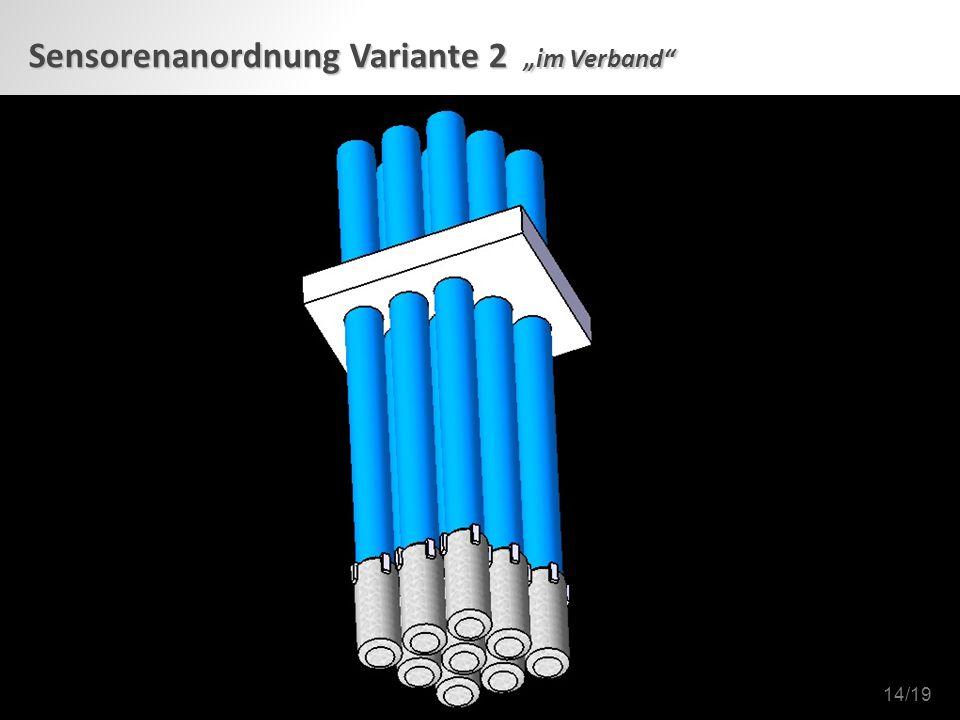 """Sensorenanordnung Variante 2 """"im Verband 14/19"""