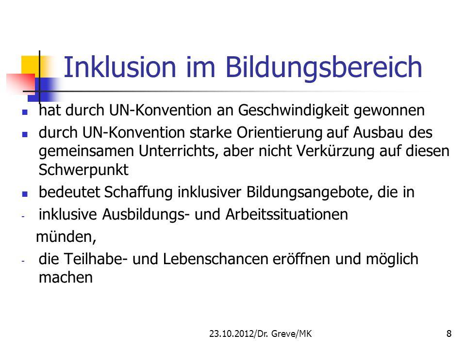 Besondere Problematik: deutsches Bildungssystem hat im Verlaufe seiner Entwicklung zahlreiche ausgliedernde Faktoren geschaffen, z.B.
