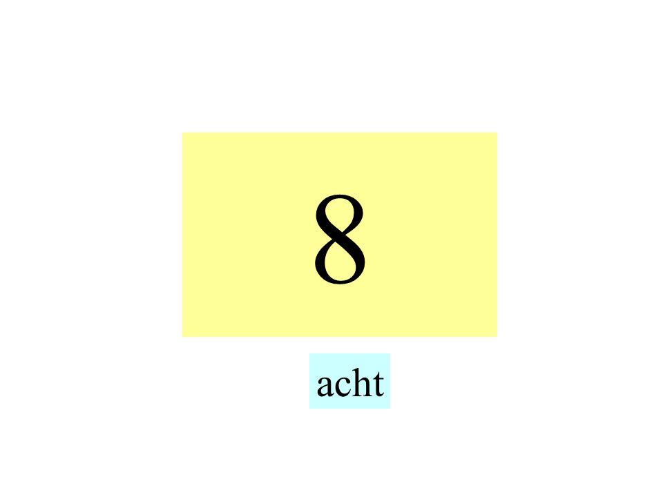 8 acht