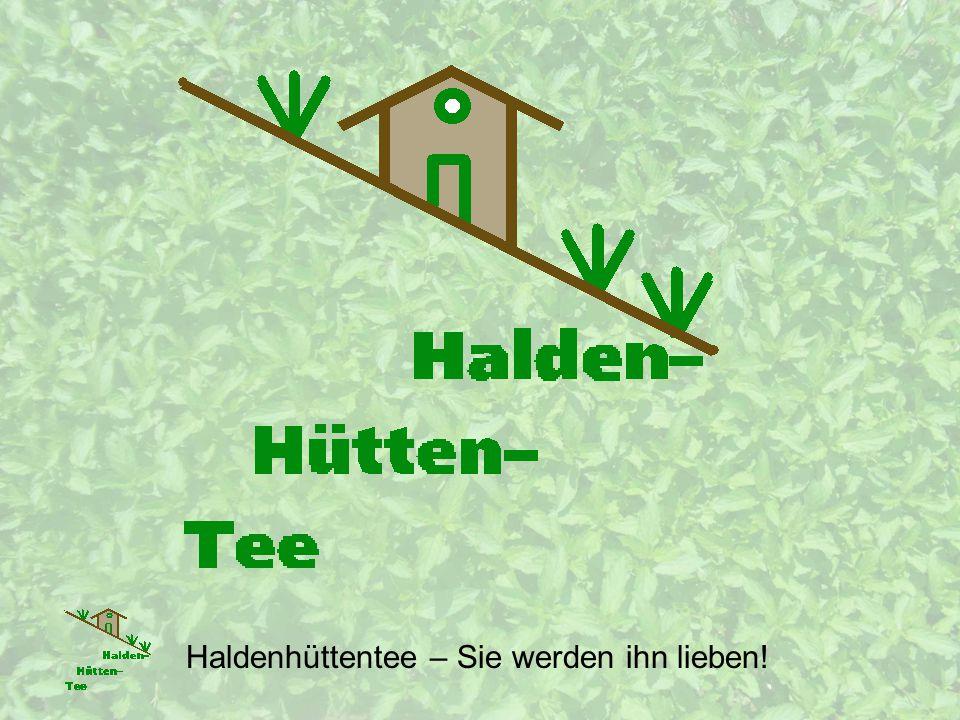 Vertriebskanäle Internet (www.Haldenhuettentee.ch) Haldenhüttentee – Sie werden ihn lieben!