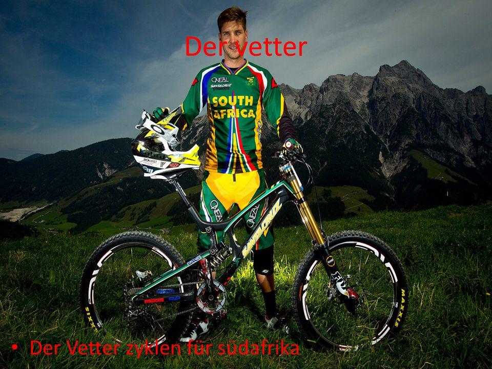 Der vetter Der Vetter zyklen für südafrika