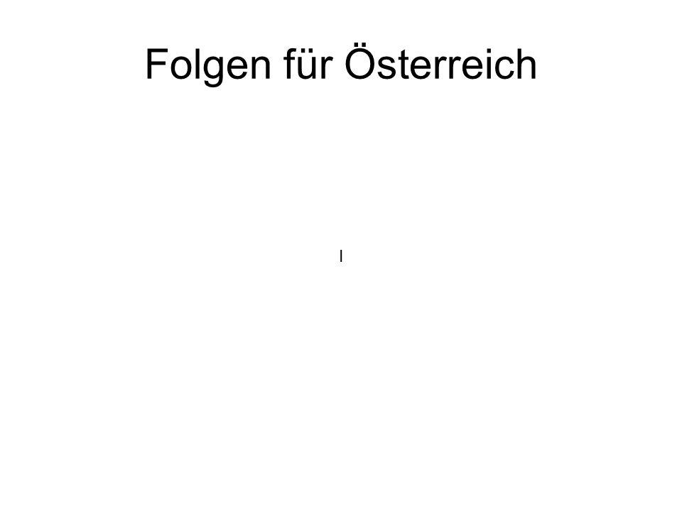 Folgen für Österreich I
