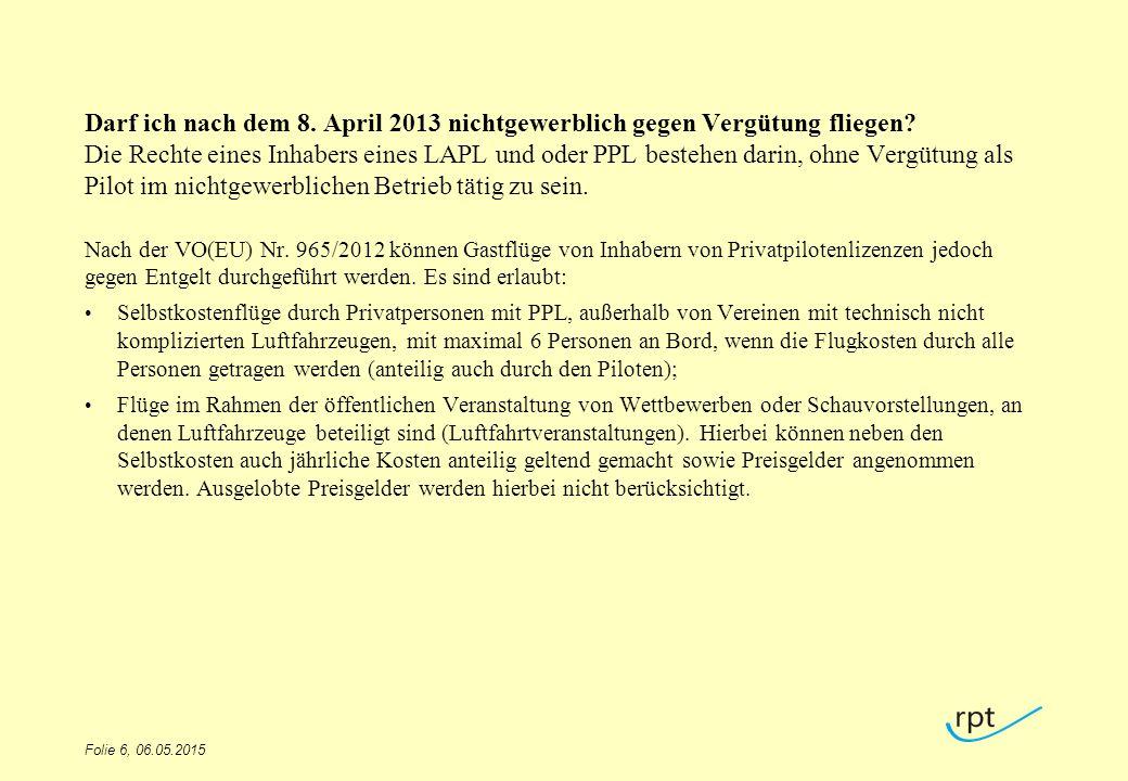 Wie läuft das zukünftige Meldeverfahren von Flugschülern (ATO gegenüber Behörde) nach Auslegung LuftPersV (neu) ab.