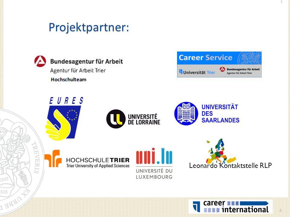 Projektpartner: 4 Leonardo Kontaktstelle RLP