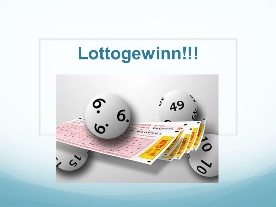 Lottogewinn!!!