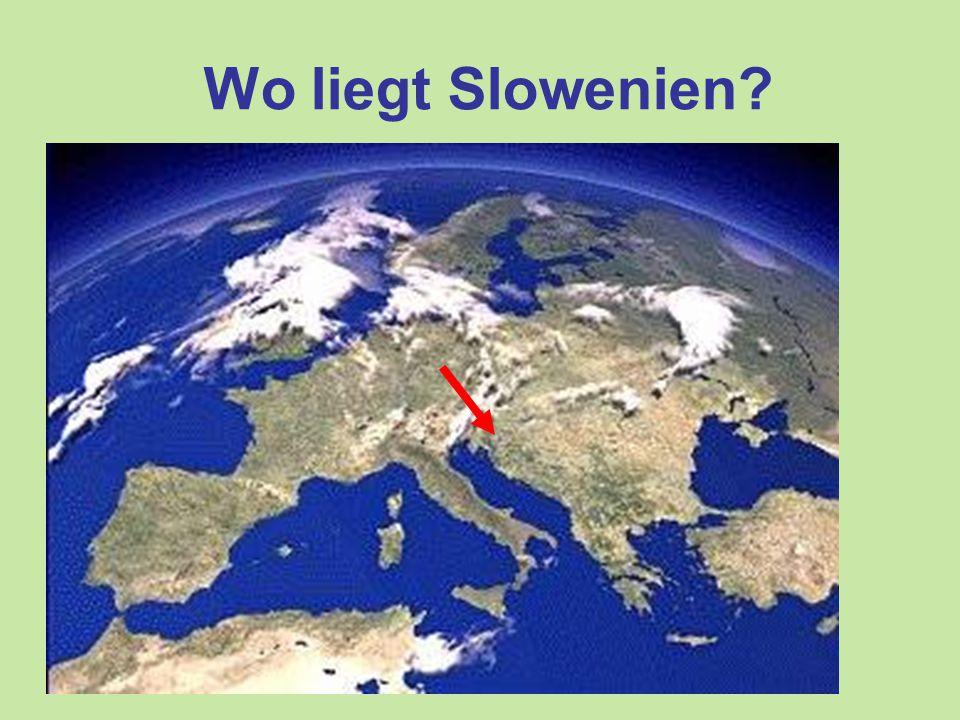 Wo liegt Slowenien?