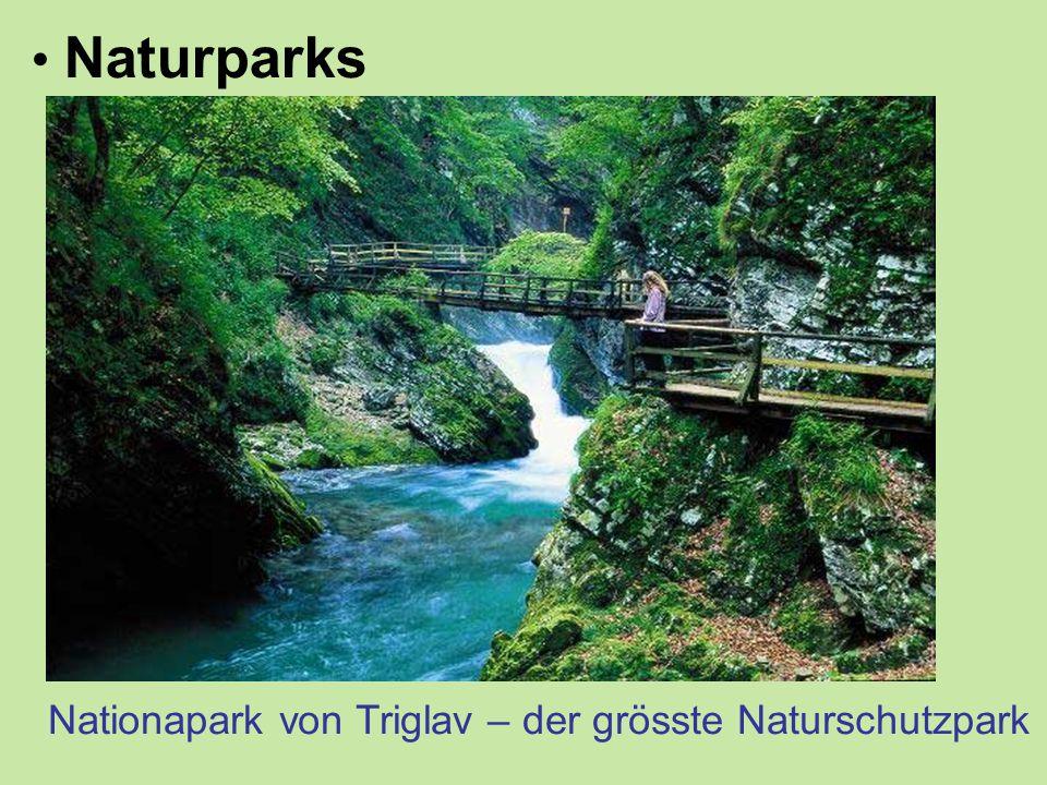 Naturparks Nationapark von Triglav – der grösste Naturschutzpark