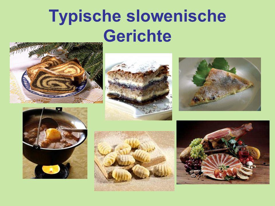 Typische slowenische Gerichte