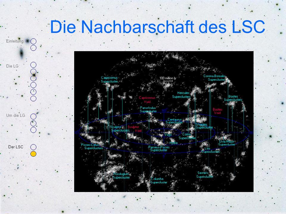 Die Nachbarschaft des LSC Einleitung Die LG Um die LG Der LSC