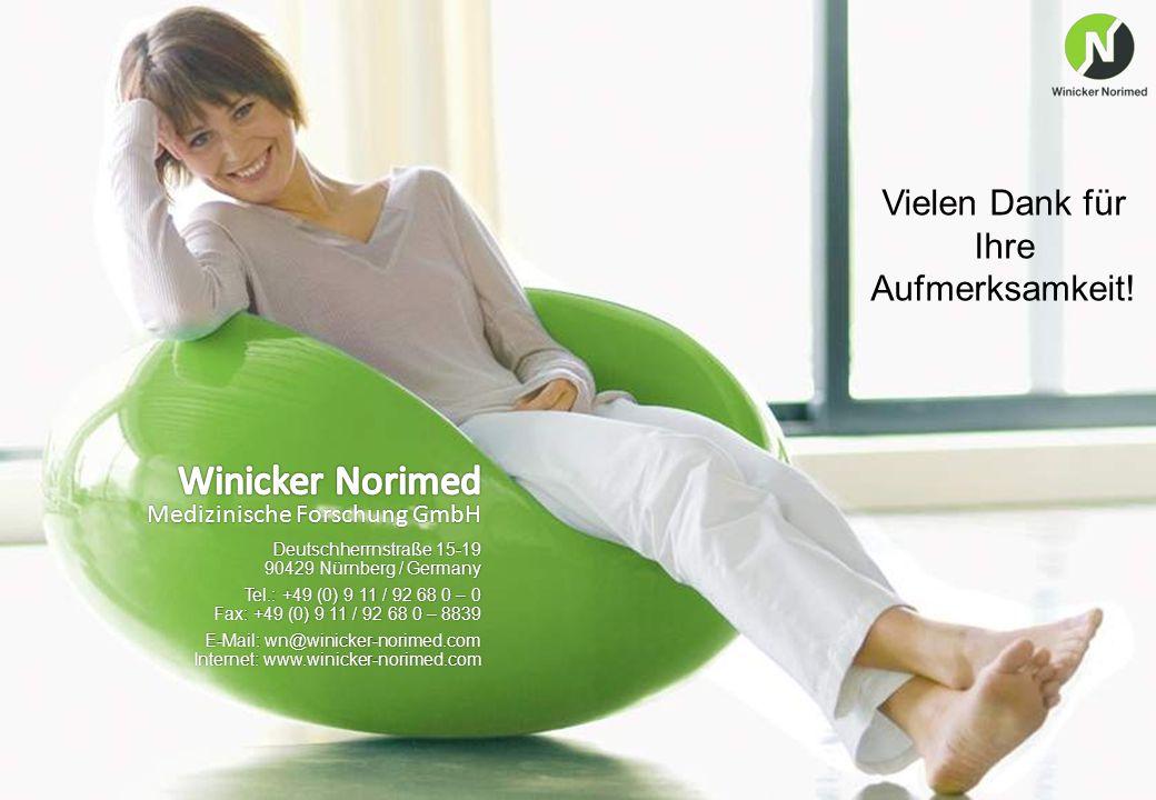 13 www.winicker-norimed.com Deutschherrnstraße 15-19 90429 Nürnberg / Germany Tel.: +49 (0) 9 11 / 92 68 0 – 0 Fax: +49 (0) 9 11 / 92 68 0 – 8839 E-Ma