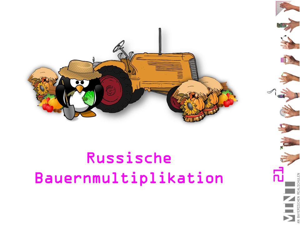 Russische Bauernmultiplikation