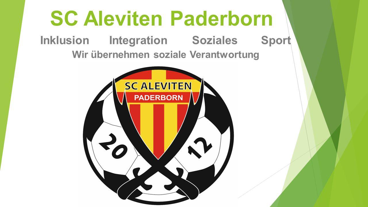 SC Aleviten Paderborn InklusionIntegrationSozialesSport Wir übernehmen soziale Verantwortung