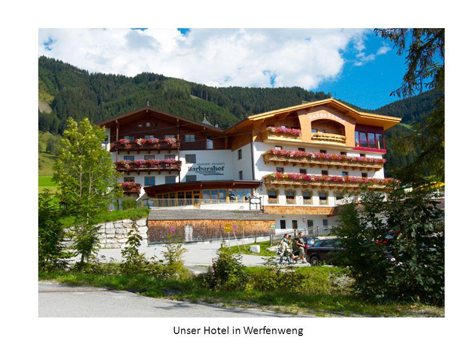 Unser Hotel in Werfenweng