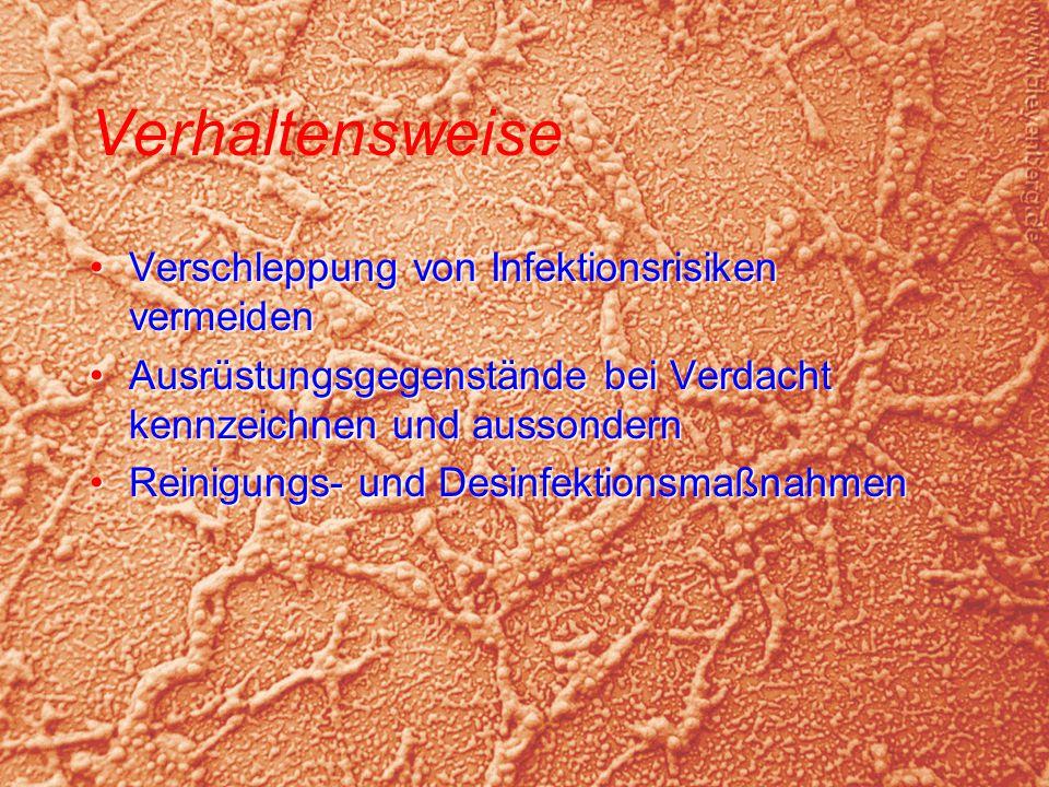 © BI Jörg Tillmann – Freiwillige Feuerwehr Unna Verhaltensweise Verschleppung von Infektionsrisiken vermeidenVerschleppung von Infektionsrisiken verme
