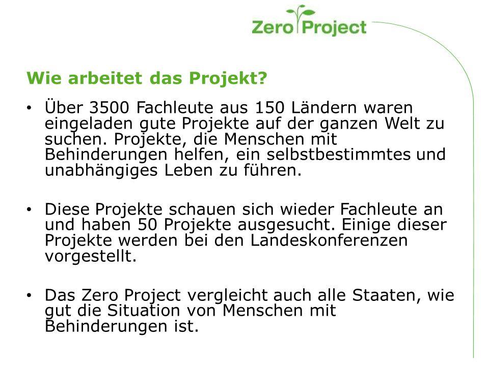 Mach mit beim Zero Project.
