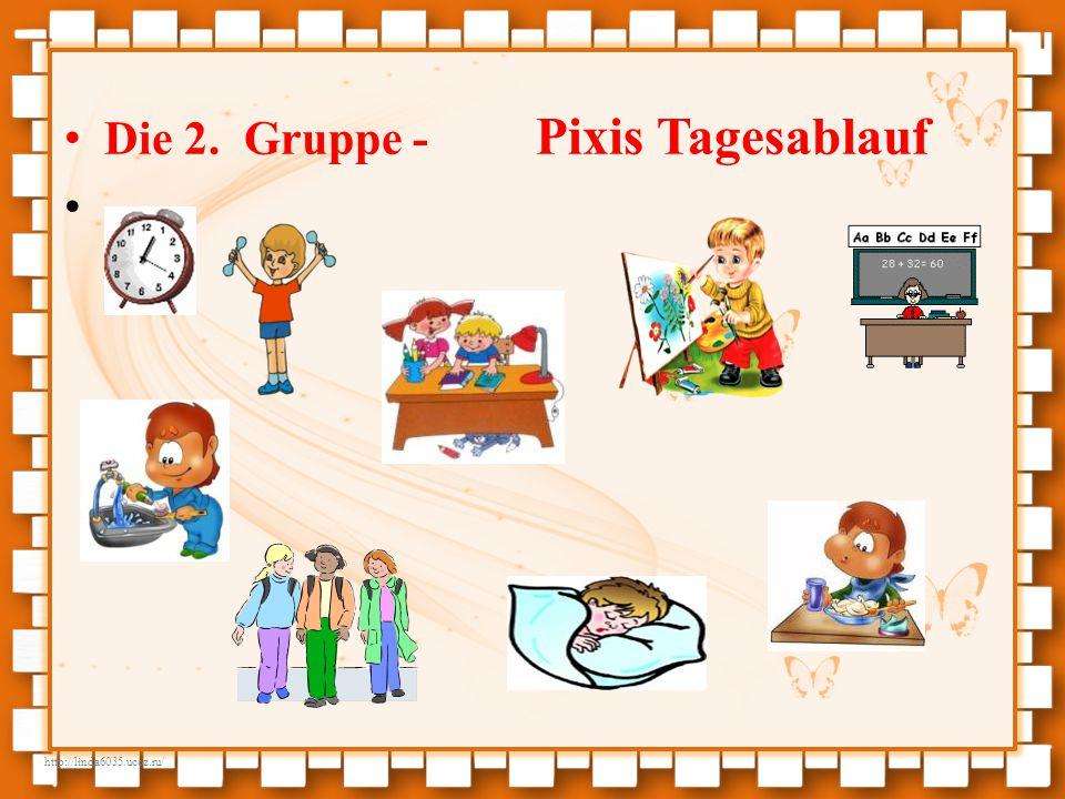 http://linda6035.ucoz.ru/ Die 2. Gruppe - Pixis Tagesablauf