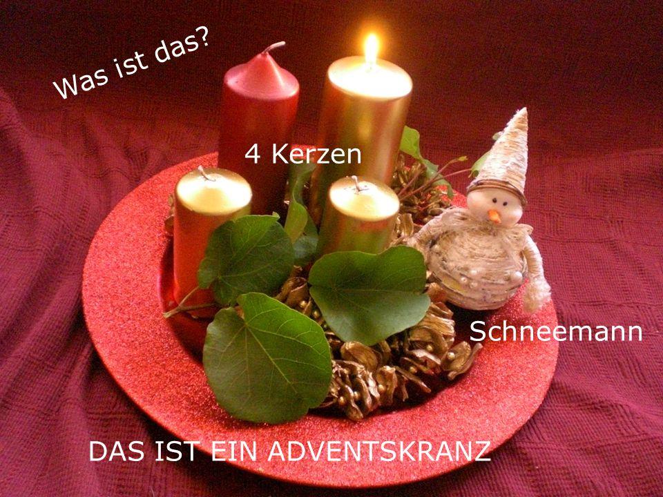Weihnachtszeit in Deutschland Vom ersten Plätzchen backen bis zum Anzünden der letzten Adventskerze...