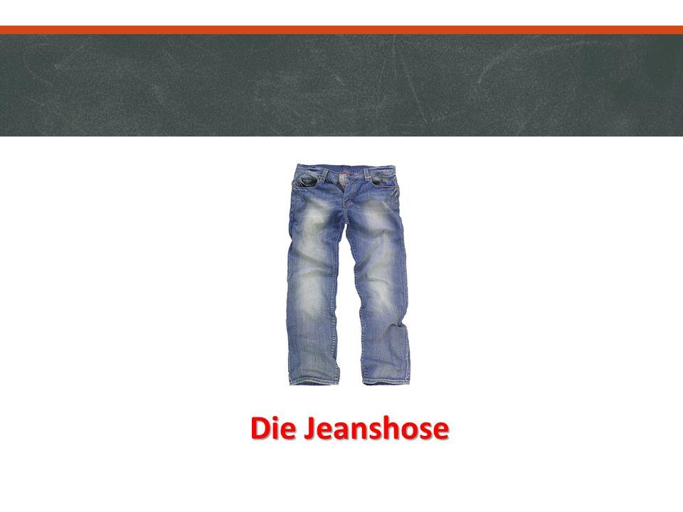 Die Jeanshose