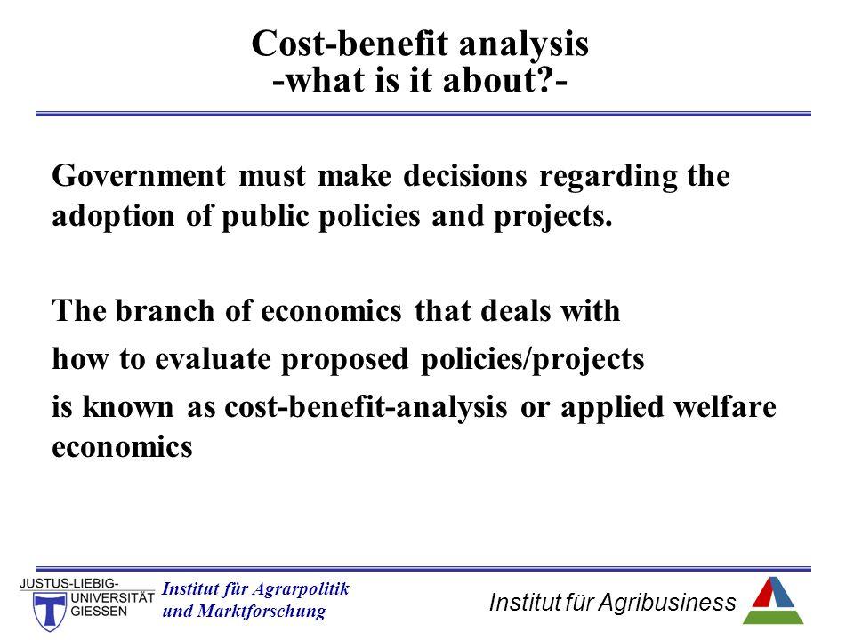 Institut für Agribusiness Institut für Agrarpolitik und Marktforschung Hannover 14.11.07.ppt b  PS= + b + c  CS= + a – b  W = + a + c  WtP= +a+c+d+e -[  VC= +d+e ]  W = +a+c Welfare effects of income increase quantity price supply D0D0 D1D1