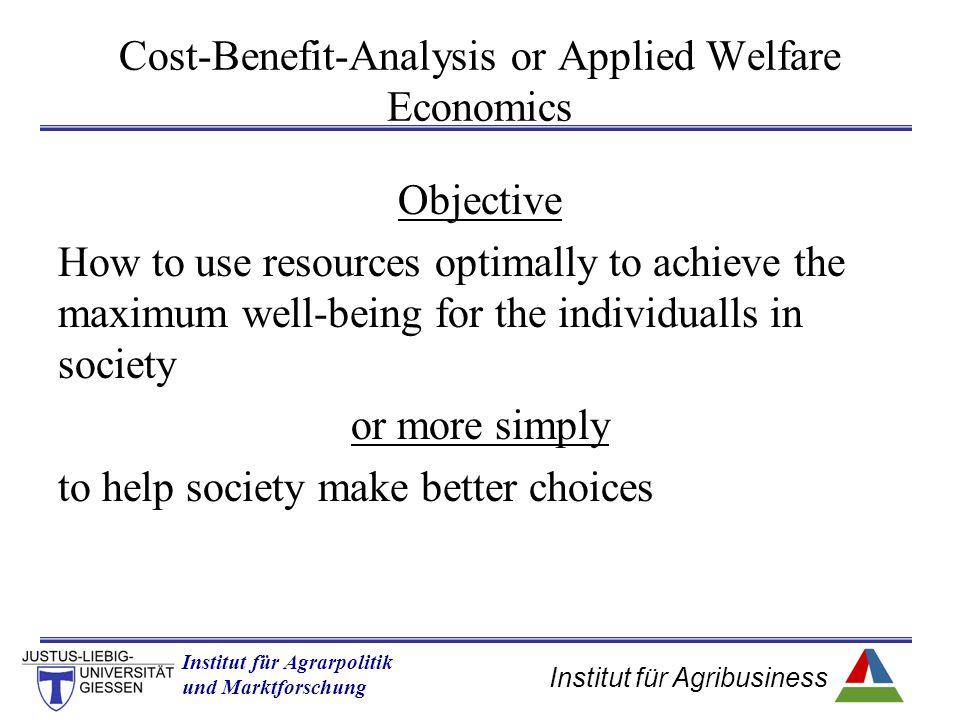 Institut für Agribusiness Institut für Agrarpolitik und Marktforschung Hannover 14.11.07.ppt Welfare measurement of a single consumer II