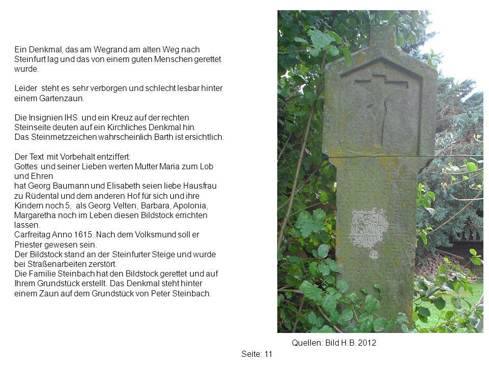 Seite: 11 Quellen: Bild H.B.
