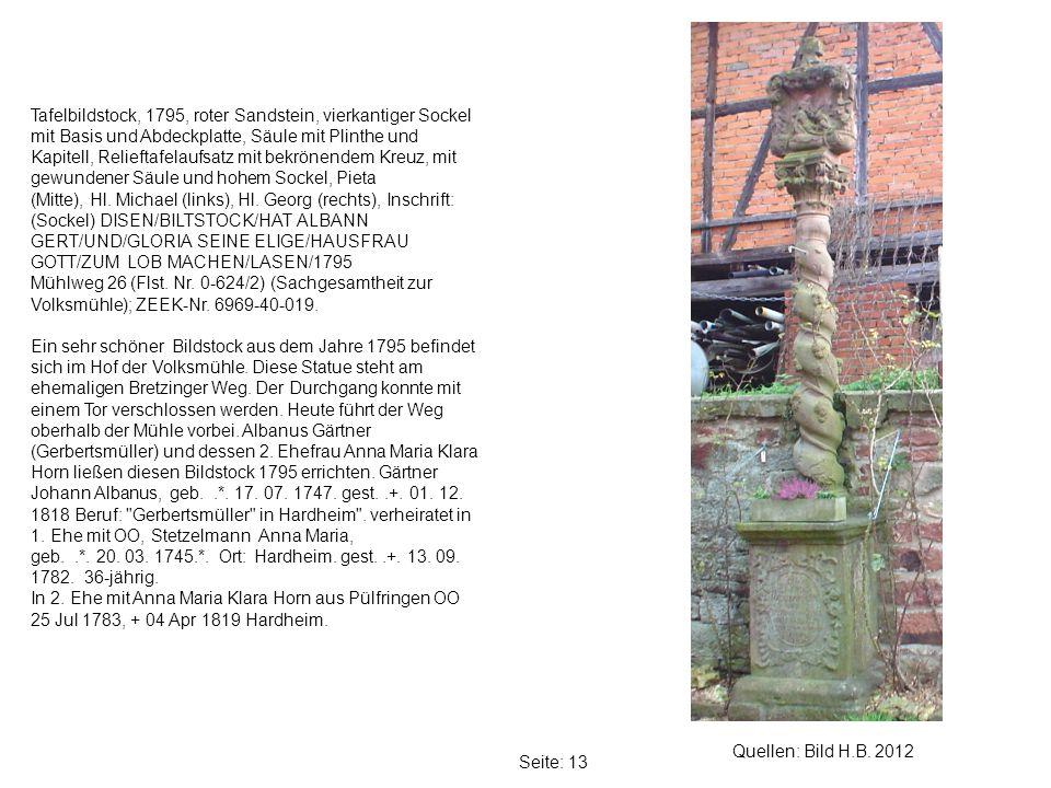 Seite: 13 Quellen: Bild H.B.