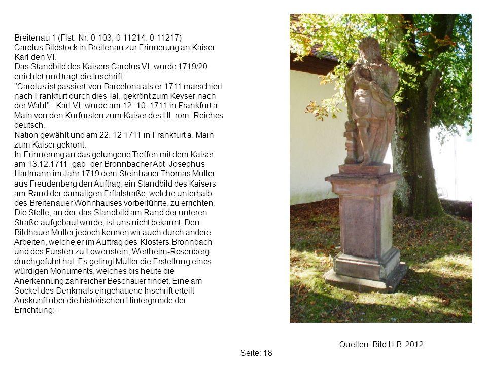 Seite: 18 Quellen: Bild H.B.2012 Breitenau 1 (Flst.