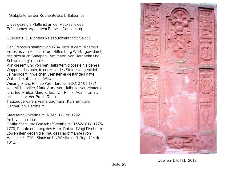 Seite: 29 Quellen: Bild H.B.
