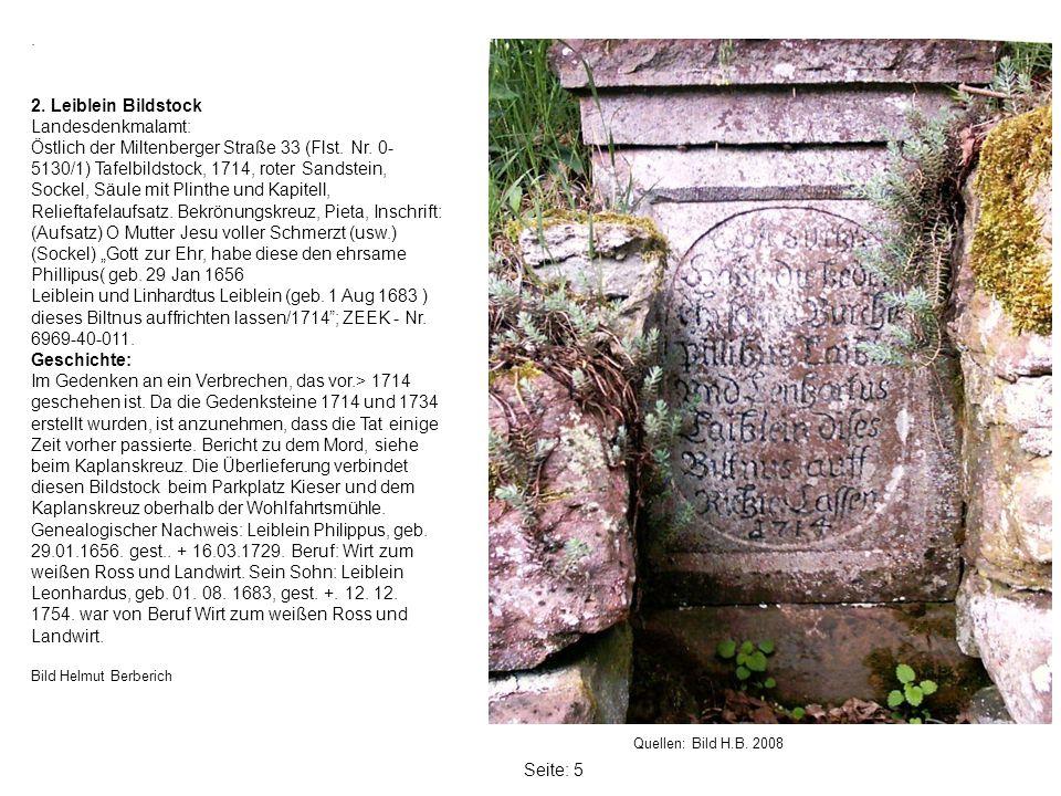 Seite: 5.Quellen: Bild H.B. 2008 2.