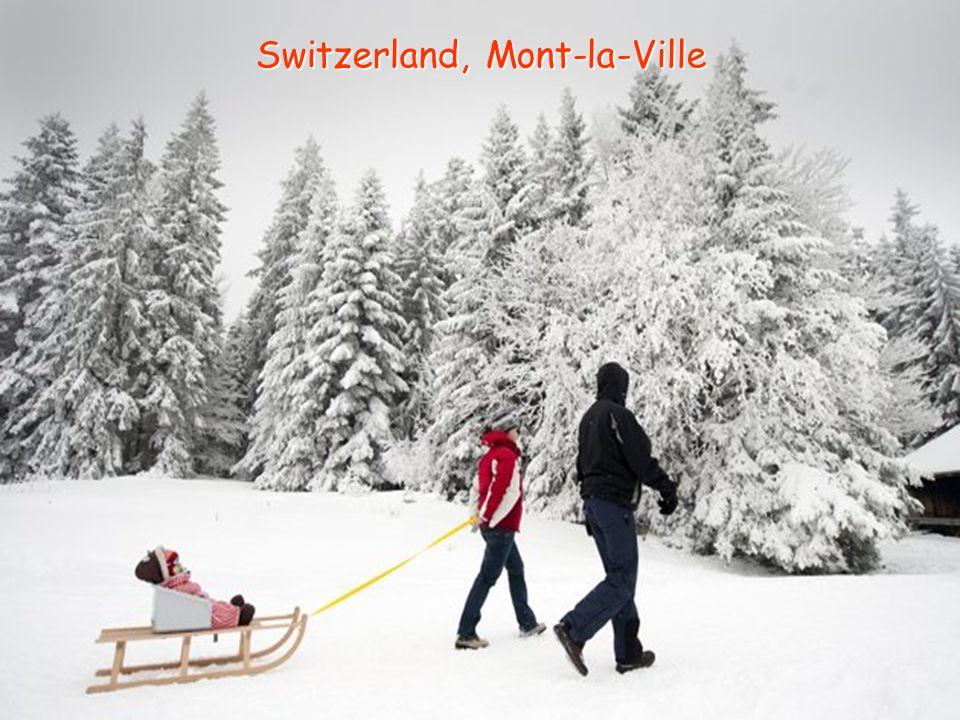 Switzerland, Mont-la-Ville