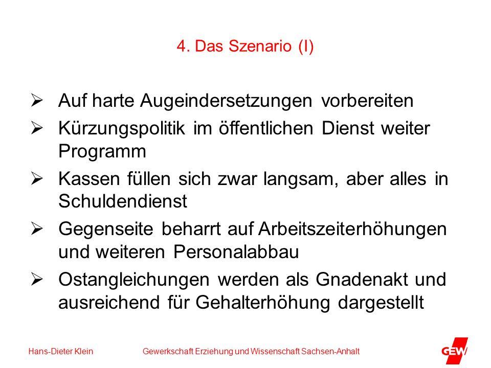 Hans-Dieter Klein Gewerkschaft Erziehung und Wissenschaft Sachsen-Anhalt 4.