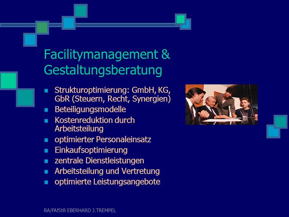 RA/FAfStR EBERHARD J.TREMPEL Rating & Finanzierung  Vorstellung und Erläuterung der Basel II Kriterien  Vorbereitung und Durchführung von Ratings  Begleitung des Finanzierungsprozesses