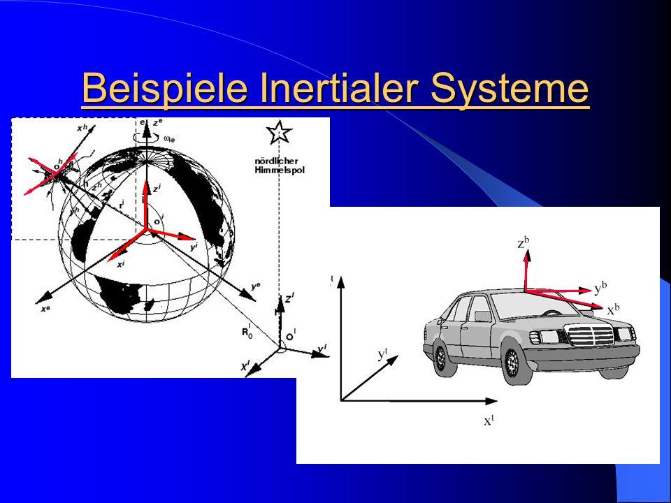 Beispiele Inertialer Systeme