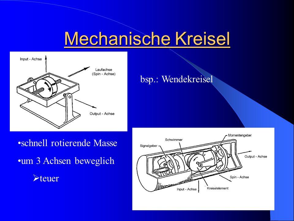 Mechanische Kreisel bsp.: Wendekreisel schnell rotierende Masse um 3 Achsen beweglich  teuer