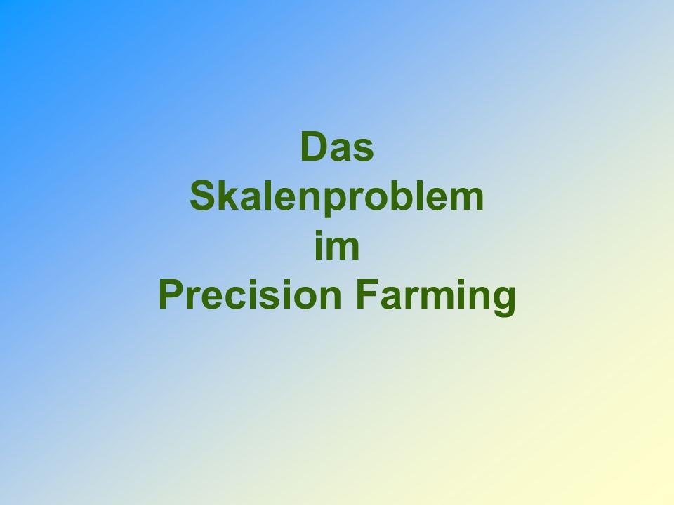 Das Skalenproblem im Precision Farming