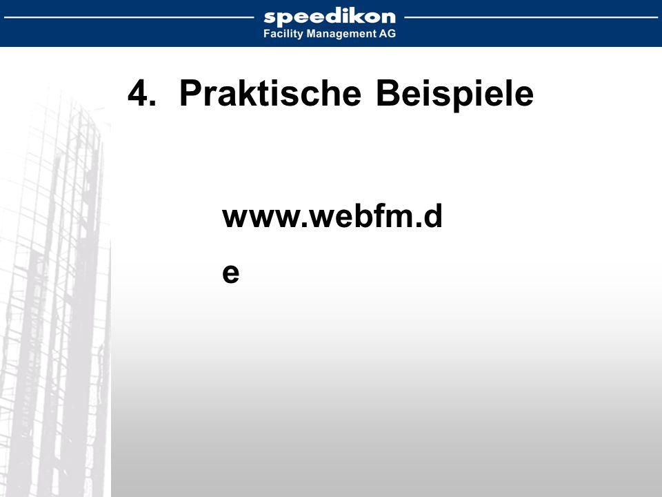 4. Praktische Beispiele www.webfm.d e