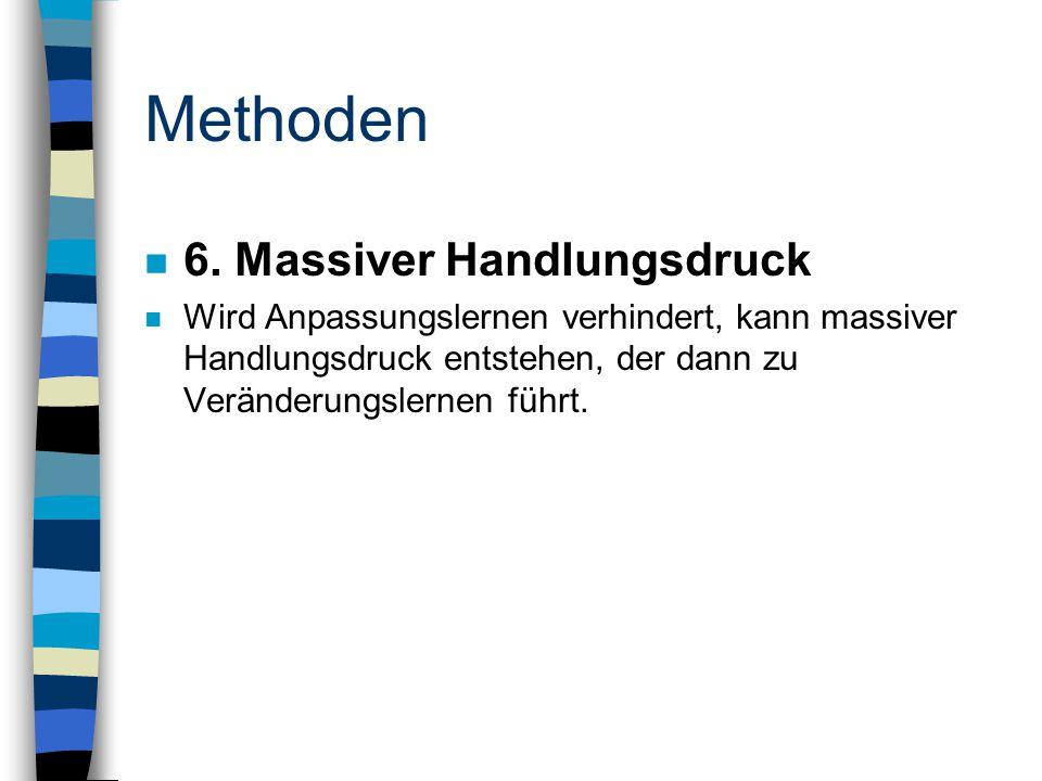 Methoden n 6.