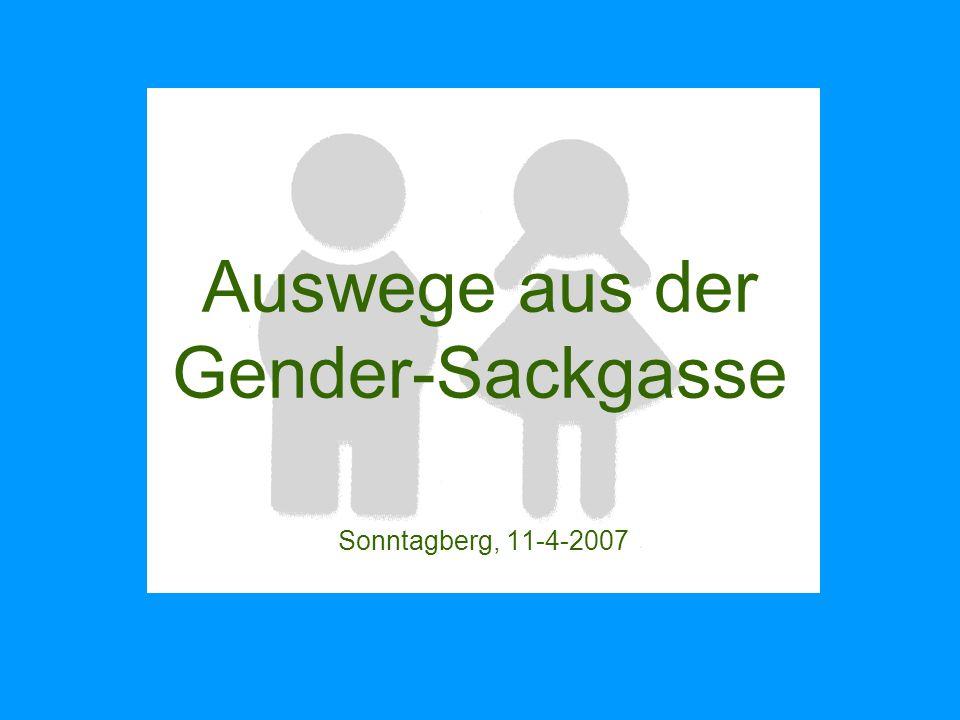 Geschlechtertheorie Gender: Ist Geschlecht ein Konstrukt?