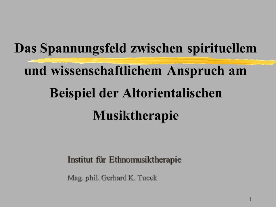 32 Kontakt: Institut für Ethnomusiktherapie A - 3924 Schloß Rosenau, Niederneustift 66  +43/2822/51248  +43/2822/512448 -4 http://www.ethnomusik.com/ Z.
