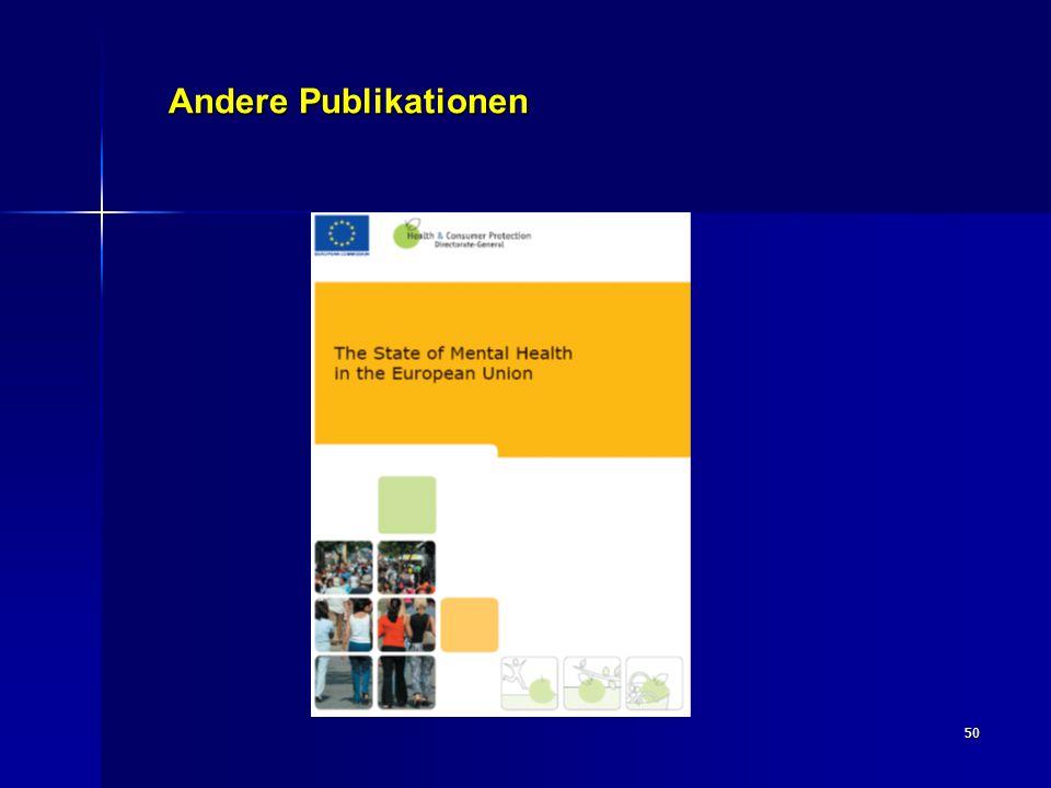 50 Andere Publikationen