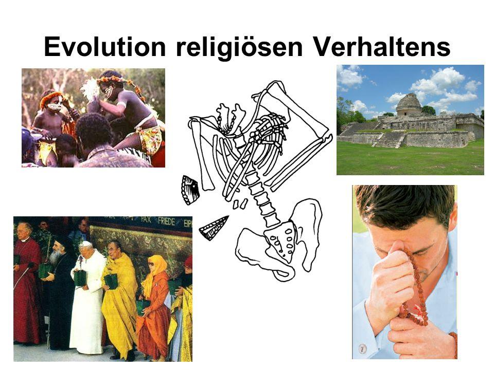 Evolution religiösen Verhaltens